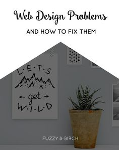 web design problems and how to fix them