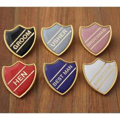 Enamel Usher School Badge