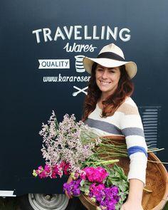 Travelling Wares by Kara Rosenlund: Kara outside