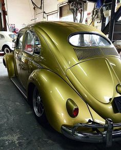 """""""⠀⠀⠀⠀⠀⠀⠀⠀⠀ • Can't go wrong with gold and BRM's • #aircooled_world ———————————————— #aircooled #aircooledvw #volkswagen #volkswagon #vw #vwlove #vintagevw…"""""""