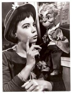 LESLIE CARON LILI CHARLES WALTERS MGM ORIGINAL B/W PHOTO ORIGINAL 9,4X7 INCHES