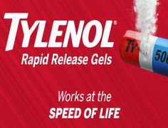 TYLENOL® Rapid Release Gels Instant Win and Sweepstakes – Win $10,000! - ends May 31, 2017