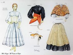 mayo 2017 – Miss Dingle Folk Costume, Costumes, Vintage Paper Dolls, Fashion History, Traditional Dresses, Paper Art, Cosplay, Summer Dresses, Time Capsule