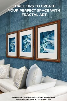 Three Tips to Create Your Perfect Space With Fractal Art | Northern Lights Home Staging and Design Bohemian Living, Modern Bohemian, Fractal Art, Fractals, Global Style, Your Perfect, Design Consultant, Home Staging, Unique Art
