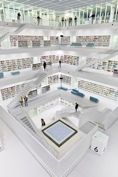 The new Stuttgart City Library – Germany, Korean architect Eun Young Yi