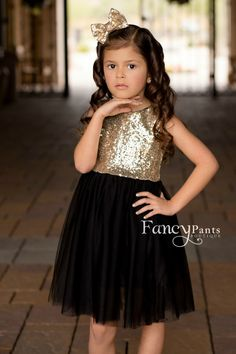 girls gold sequin dress, new years eve dress, party dress girl, fancy dress, gir. Birthday Girl Dress, Girls Party Dress, Birthday Dresses, Wedding Party Dresses, Bridesmaid Dresses, Dress Party, Dress Girl, Flower Birthday, Girl Tutu