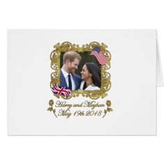 #Prince Harry and Meghan Markle Card - #wedding gifts #marriage love couples