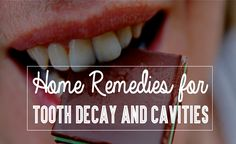Home remedies for treating decayed teeth #homeremedies #dentalhealth