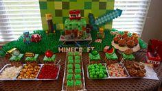 minecraft birthday party, mincraft party ideas, minecraft cake, minecraft party games, minecraft birthday fun