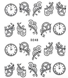Steampunk Gears And Cogs Drawing Undying Suggestions How To Draw Steampunk Pdf Steampunk Nails, Steampunk Gears, Steampunk Font, Steampunk Patterns, Nail Art Diy, Diy Nails, Gear Drawing, Steampunk Drawing, Decal
