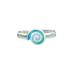 Discover the beautiful Skara Spiral Ring by Sheila Fleet at just 71GBP. Explore our designer jewellery from Orkney, Scotland