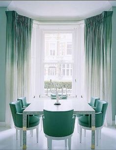 Ombre Dip Dyed Window Panels | Honey & Fitz | Bloglovin'
