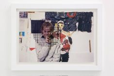 """""""Aristotle's illusion (Juliette)"""", 2009 // A photographic print of Juliette Dumas, a student of Fine Art at the National School of Fine Arts at Villa Arson, Nice, France, performing Aristotle's illusion in her studio space, over which the glass of the photograph's frame, has been screenprinted with a defunct compositional girl in black ink. // Click on """"Visit' and see more ! Ryan Gander, Make Meaning, National School, Nice France, Illusions, Screen Printing, It Works, Villa, Student"""