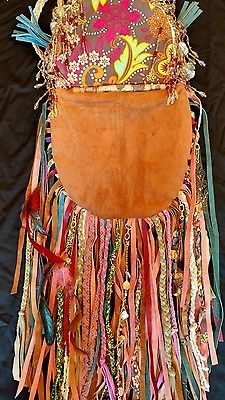 Handmade-Leather-Ibiza-Festival-Bag-Leather-Hippie-Boho-Hobo-Gypsy-Purse-tmyers