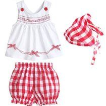 Urparcel Baby Girls Sleeveless Tops Plaid Shorts Scarf Bowknot Outfits Sets 1-3y
