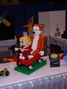 LEGO Kidsfest 2010 - Chicago - Calvin and Hobbes