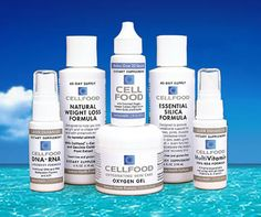 CELLFOOD - The Best Oxygen Therapy Supplement - Silica, Multivitamin, SAM-e, DNA/RNA, Weight Loss