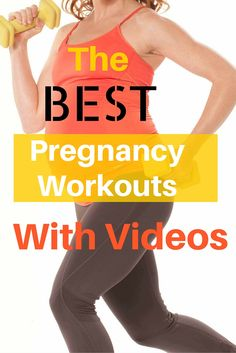 These pregnancy workouts are the best, they have exercise pictures, videos and modifications for home and gym use.  So glad I found these.