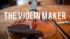 """The Violin Maker by Dustin Cohen. Made in Brooklyn. A glimpse into the work of master luthier Sam Zygmuntowicz. Reading the book """"The Violin Maker"""" about him several years ago was very inspiring to me as a craftsperson."""