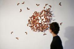 Alla triennale di Milano la mostra 'Trame': il rame e il suo utilizzo tra arte, design, tecnologia e architettura.