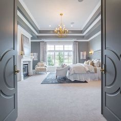 Master Suite Highlandcustomhomes 24highlandhideawaymanor Photography By Nick Bayless Luxury Bedroom Double