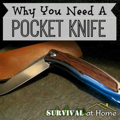 Why You Need A Pocket Knife When I was a kid, my dad gave me one of his old pocket knives to carry. So why exactly do you need to carry a pocket knife? #pocketknife #knife #edc