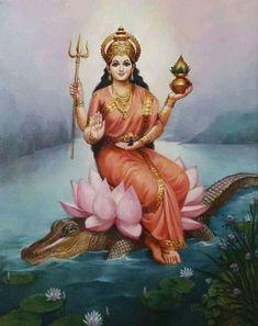 Shiva Hindu, Shiva Shakti, Hindu Deities, Krishna Art, Hindu Art, Saraswati Goddess, Goddess Art, Goddess Lakshmi, Durga Maa