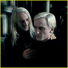 Lucius & Draco Malfoy