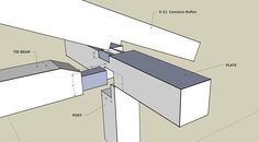 examples of tying joint at plate w/common rafter | Software | Timber Frame Forums