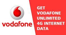 Get Vodafone Unlimited 4G Data