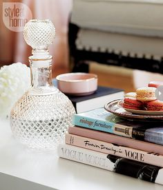 feminine glam home decor
