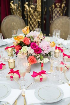 Make Your Table Numbers Visible... and Cute! Complete the perfect wedding table with gold mirror table numbers your guests will love!  // Handcrafted Table Numbers and Event Decor, Gifts & Accessories at www.ZCreateDesign.com or ZCreateDesign on Etsy