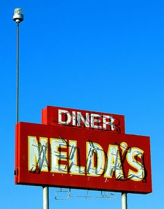Nelda's Diner - Lake Isabella, CA.  Our favorite breakfast spot at the lake.