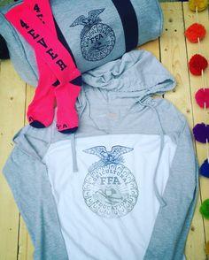 FFA 4ever blue gym socks, new FFA gym bag and hombre emblem long sleeve tee at Shop FFA! #FFAstyle