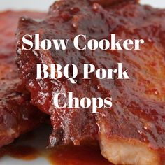 I was looking for a recipe for Slow Cooker BBQ Pork Chops and came across this recipe. I made it for dinner one day and have done it that way every time