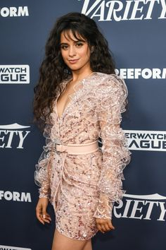Because his gal, Camila Cabello, just stepped out in a flirty minidress that likely sent his pulse shooting through Zuhair Murad Dresses, Cabello Hair, Corte Bob, Blush Pink Dresses, Anya Taylor Joy, Pose For The Camera, American Girl, Celebrity Style, Alabama