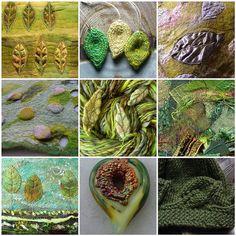 Carolyn Saxby - Mixed Media Textile Art