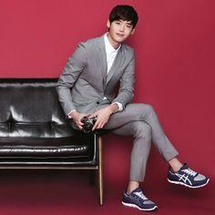 Lee JongSuk @ Asics Ad. 2014/09… - @js_rezina