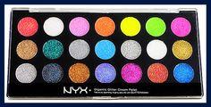 NYX glitter cream pallet