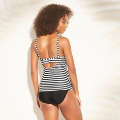 03c971dd617 Women s Bow Back Bralette Bikini Top - Shade   Shore Taupe Floral S ...