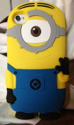 Minion cell phone case