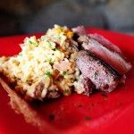 Duck risotto...maybe I can see the point in all this duck hunting cowboy goes on ;)