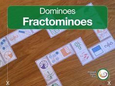 Fractominoes   Fractions for Equivalent Fractions for KS2 & KS3
