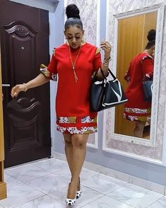 Short African Dresses, Latest African Fashion Dresses, African Print Dresses, African Print Fashion, Infinity Dress Ways To Wear, African Fashion Traditional, African Print Dress Designs, Ankara Short Gown Styles, Green Nails