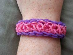 I LOVE this pattern! Liberty Twistz Bracelet by RainbowLoomLover on Etsy, $4.50