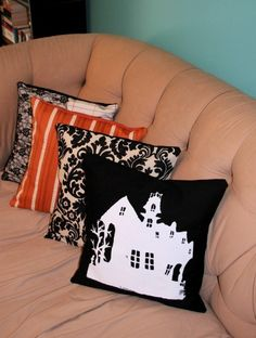 haunted mansion pillow cover. bexcaliber.