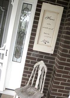 Allred Design Blog: IBP: Repurposing Cabinet Doors