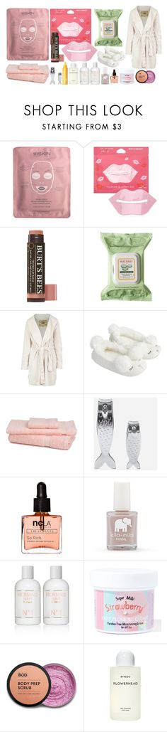 """I need a spa day😓"" by freedom2095 ❤ liked on Polyvore featuring beauty, 111Skin, Forever 21, Burt's Bees, UGG Australia, Accessorize, Kikkerland, ncLA, FOSSIL and Sugar Milk Co"