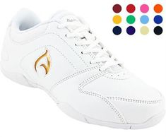 Axeus Ignite - Youth's Soft Synthetic Upper 12 Color - Changeable Inserts Removable Cushion Insole Rubber Outsole for Added Durability and Grip Youth Cheer Shoes, Cheerleading Shoes, Kid Shoes, Girls Shoes, Rogan's Shoes, Kids Cheering, Cheer Mom, Cheer Stuff, Shoe Size Chart Kids