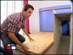 C mo construir una escalera de madera paso a paso for Manual para hacer una cama de madera